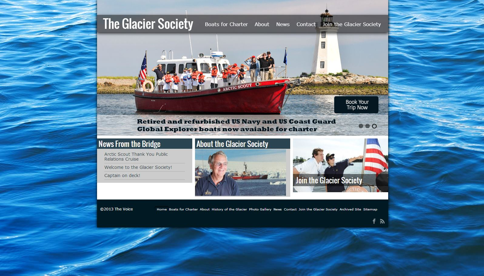 The Voice The Glacier Society Website