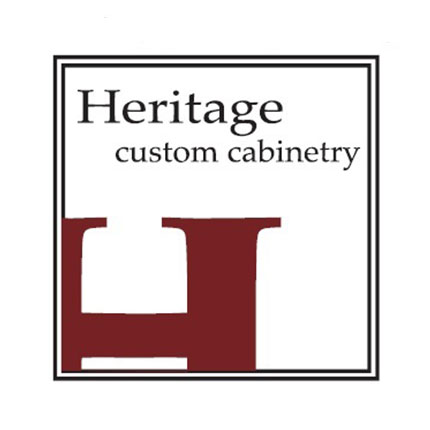 Heritage Custom Cabinetry logo by The Voice