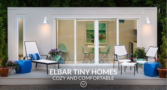 Elbar Tiny Homes marketing by The Voice