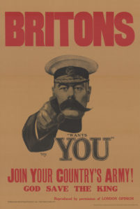 Kitchner WWI Wants You war recruiting poster
